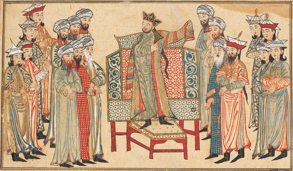 Jami_al-Tawarikh-Mahmud_of_Ghazni_in_rob