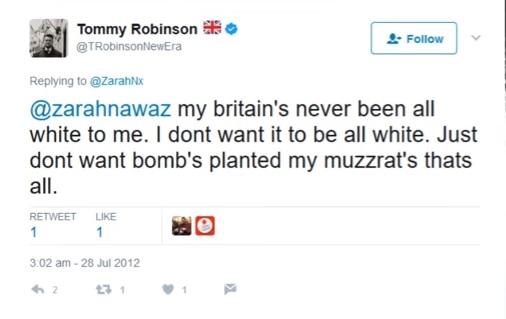 Tommy Robinson - Materia Islamica