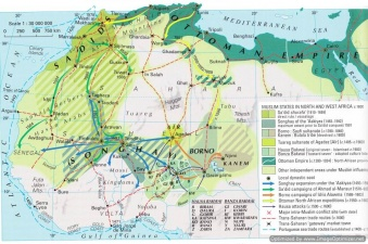 List of Cartographic Maps of Pax Islamica c 624c 1999